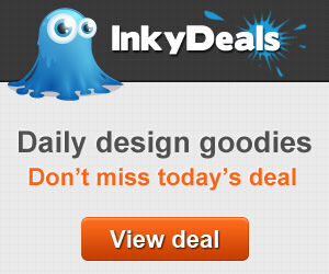 Daily deals for designers