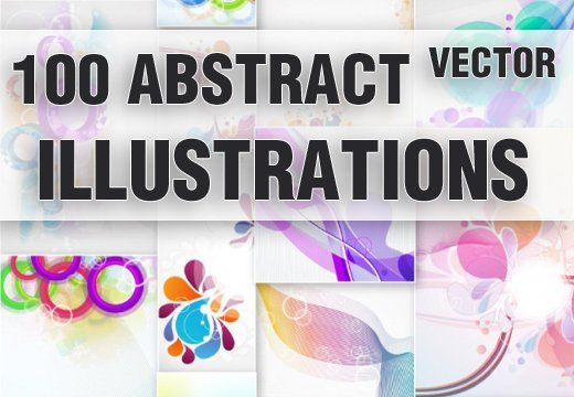 100 Abstract Illustrationss