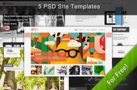 5-free-themes-psd