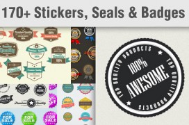 Stickers-badges