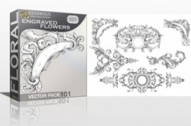 free-floral-vector-pack