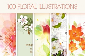 100-floral-illustrations