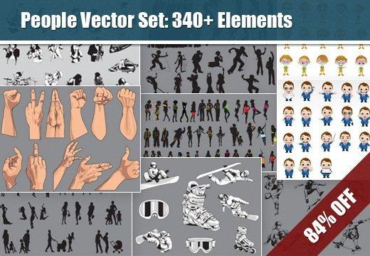 people-vectors-set