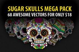 sugar-skulls-vector-mega-pack-preview