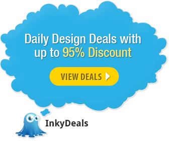 Daily design deals with up to 95% discount