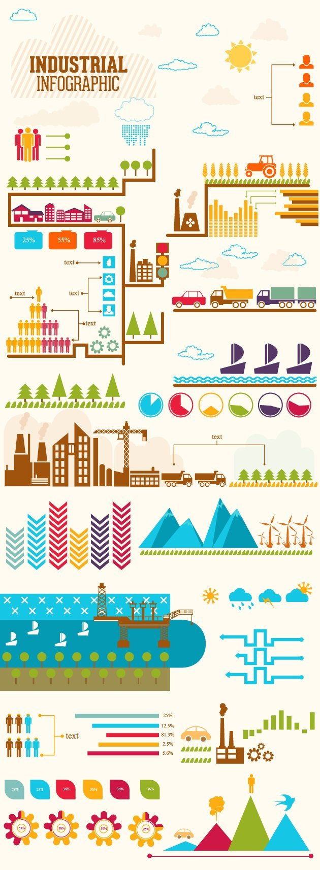 industrial-infographic-vector