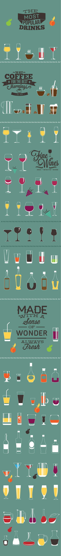 designtnt-beverage-flat-vector-elements-large