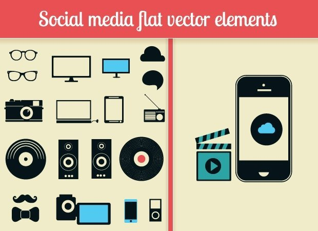 designtnt-social-media-flat-vector-elements-small