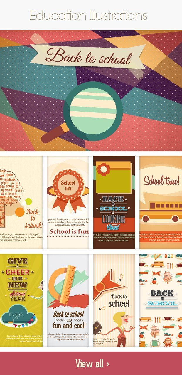 education small Deal of the Week: 600+ Top Quality Vector Illustrations – Only $49