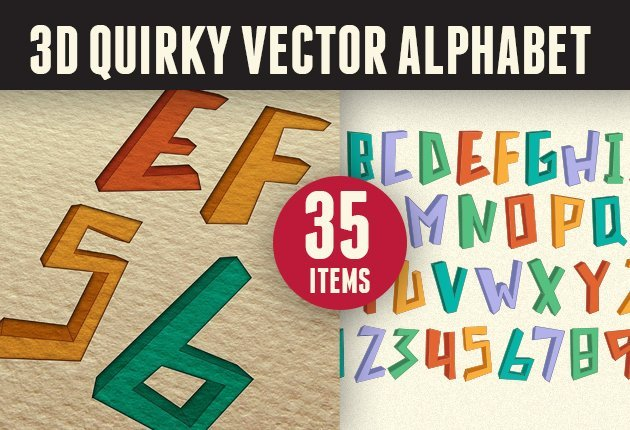 letterzilla-super-premium-vector-alphabets-3D-quirky-small
