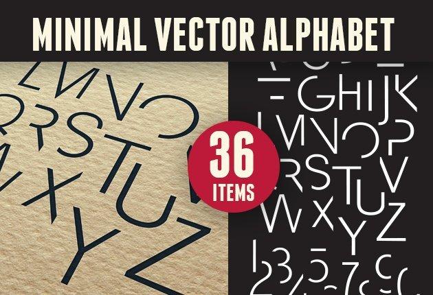 letterzilla-super-premium-vector-alphabets-minimal-small