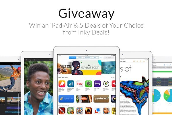 Win an iPad Air & 5 Deals of Your Choice from Inky Deals