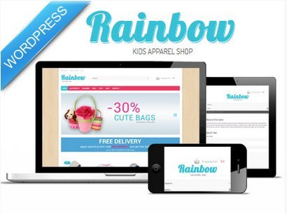 rainbow-wp-template