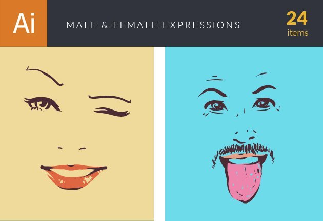 male-female-expressions-small