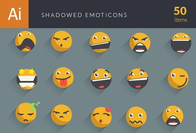 shadowed-emoticons-small