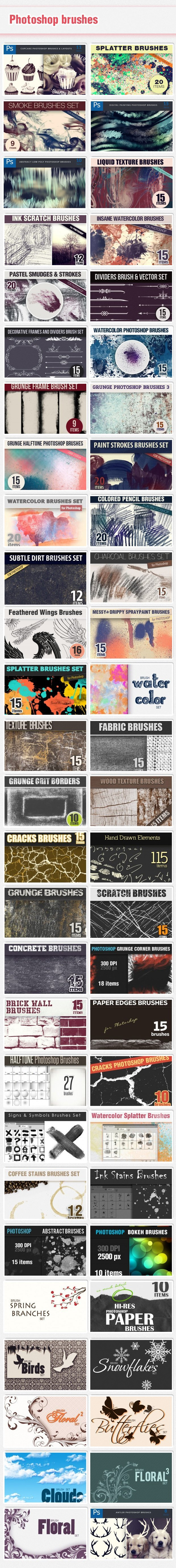 brushes new Deal of the Week: The New Colossal Bundle $10,063 worth of Top Quality Resources – From $49