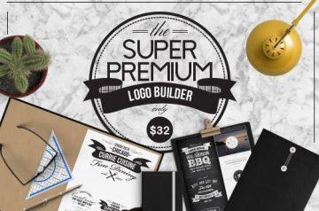 Super premium logo builder