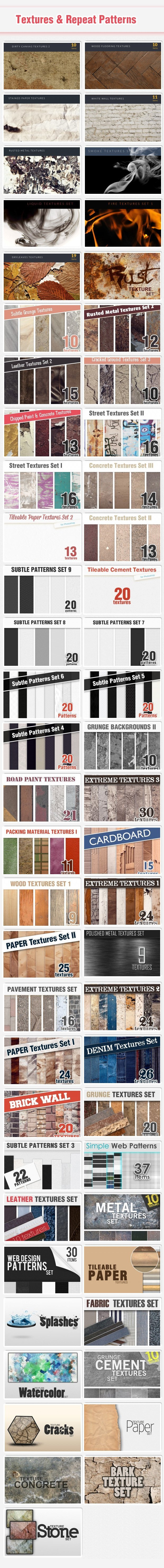 textures new Deal of the Week: The New Colossal Bundle $10,063 worth of Top Quality Resources – From $49