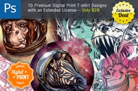 10-premium-digital-print-tshirt-designs-preview