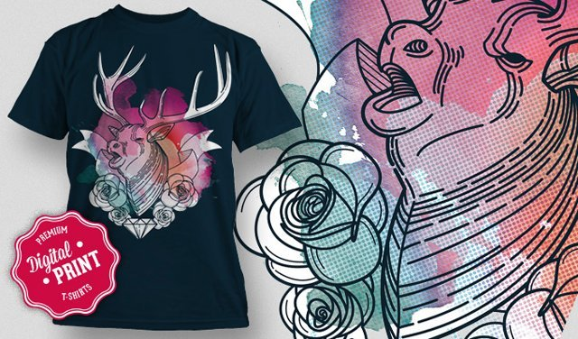 designious-geometric-stag-t-shirt-mockup