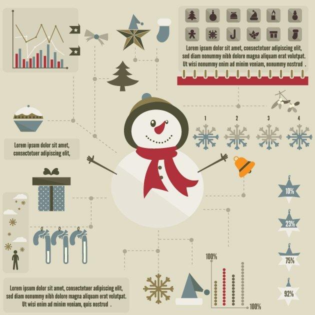 designtnt-vector-christmas-infographic
