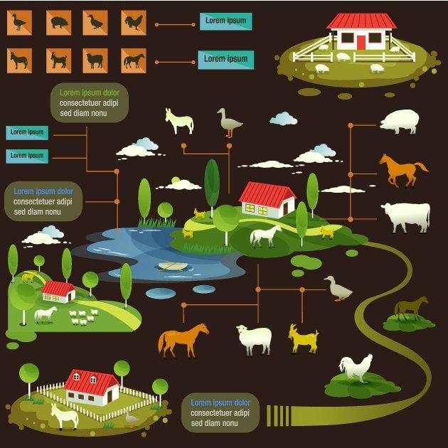 designtnt-vector-farming-infographic