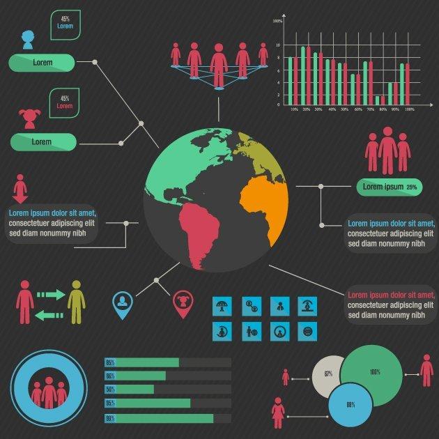designtnt-vector-human infographic