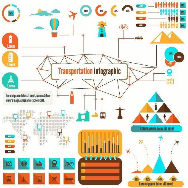 designtnt-vector-transportation-infographic