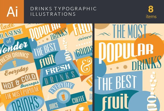 drinks-typographic-illustrations-small
