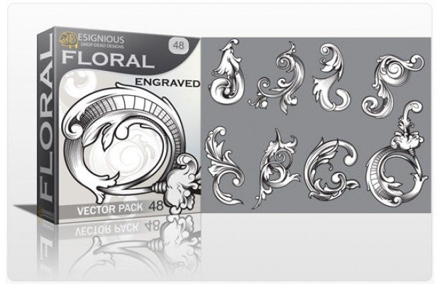 floral-engraved-vector-pack-48