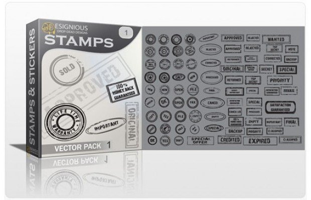stamp-vector-pack 1