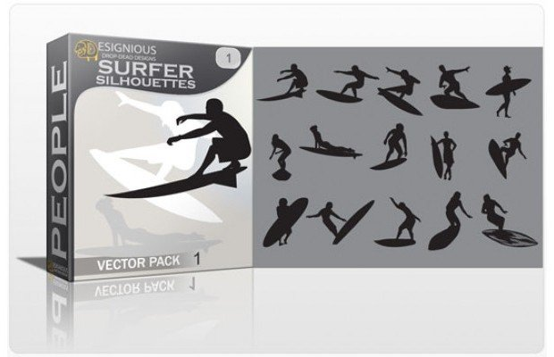surfer-silhouettes
