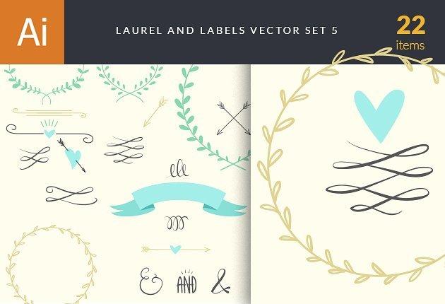 designtnt-vector-doodle-laurels-love-5-small