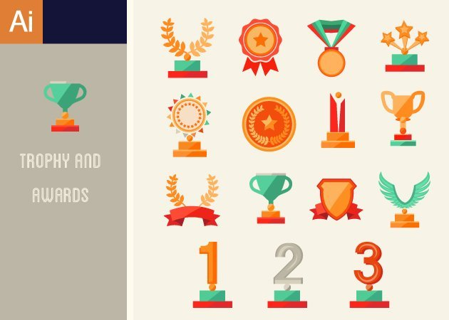 Designtnt-Vector-Trophy-And-Awards-Vector-Set-1-small-
