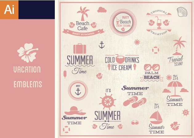 Designtnt-Vector-Vacation-Emblems-Vector-Set-1-small