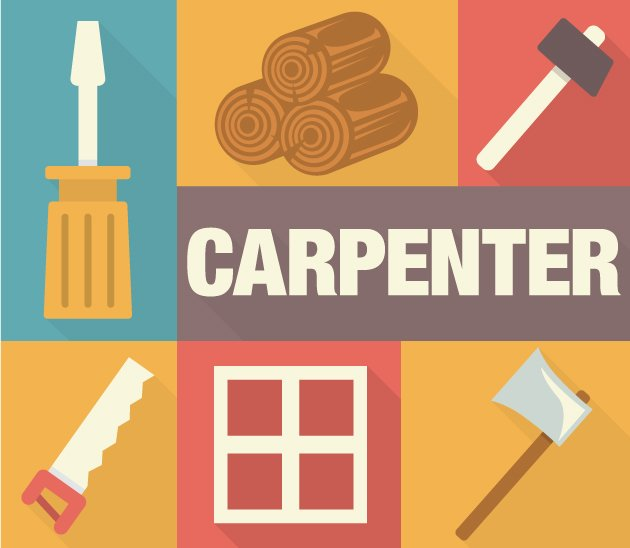 designtnt-vector-Carpenter-icons