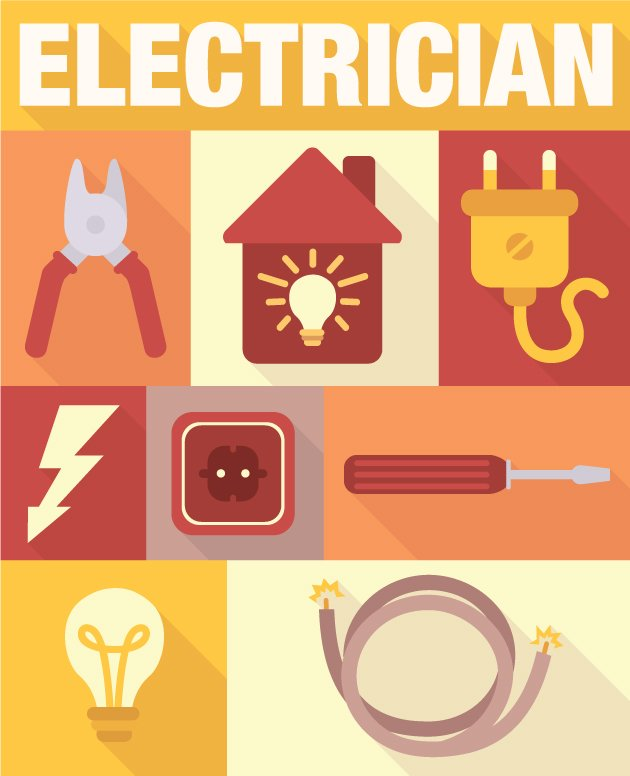 designtnt-vector-Electrician-icons