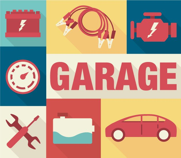 designtnt-vector-Garage-icons