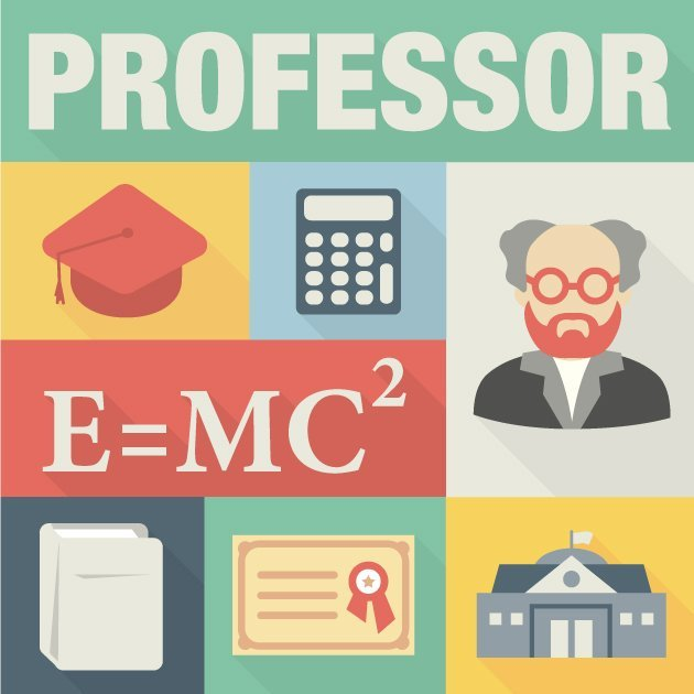 designtnt-vector-Professor-icons