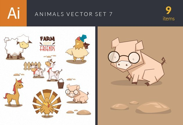 designtnt-vector-animals-vector-set-7-small