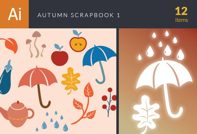 designtnt-vector-autumn-scrapbook-set-1-small