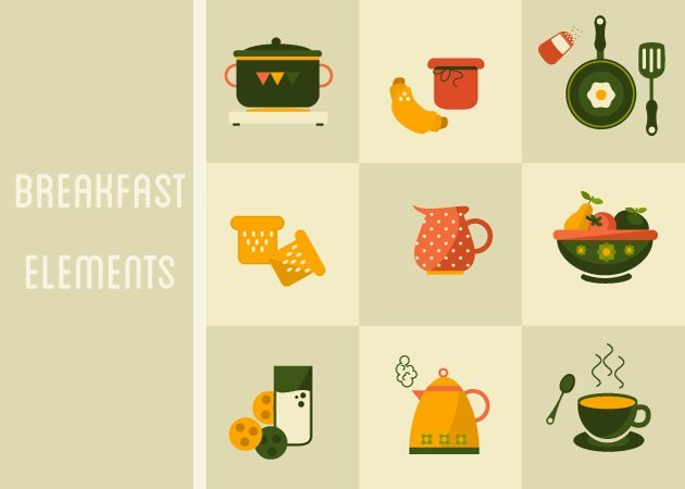 designtnt-vector-breakfast-elements-small