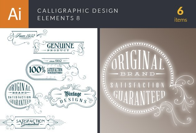 designtnt-vector-calligraphic-design-elements-set-8-small