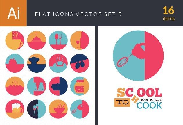 designtnt-vector-flat icons set 5-small