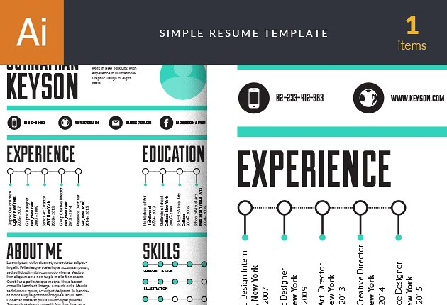 designtnt-vector-simple-resume-1-small