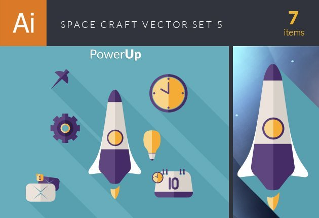 designtnt-vector-space craft vector set 5-small