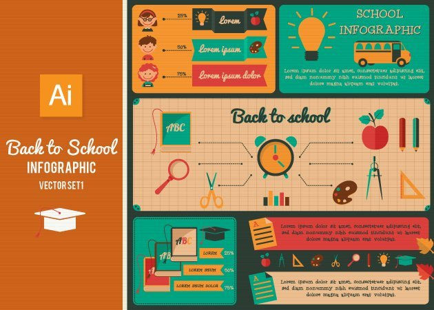 Designtnt-Vector-Back-To-School-Infographic-Set1-small