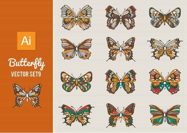 Designtnt-Vector-Butterfly-Set 9-small