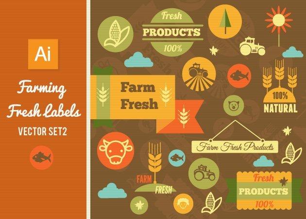 Designtnt-Vector-Farming-Fresh-Labels-Set-2-small