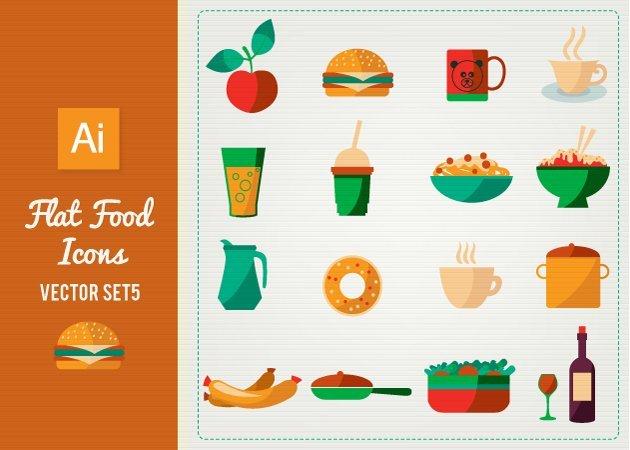 Designtnt-Vector-Flat-Food-Icons-Set-5-small